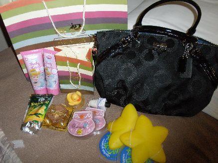グアムの免税店で購入したコーチのバッグ