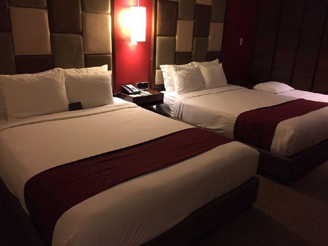 グアムのアウトリガーホテル部屋