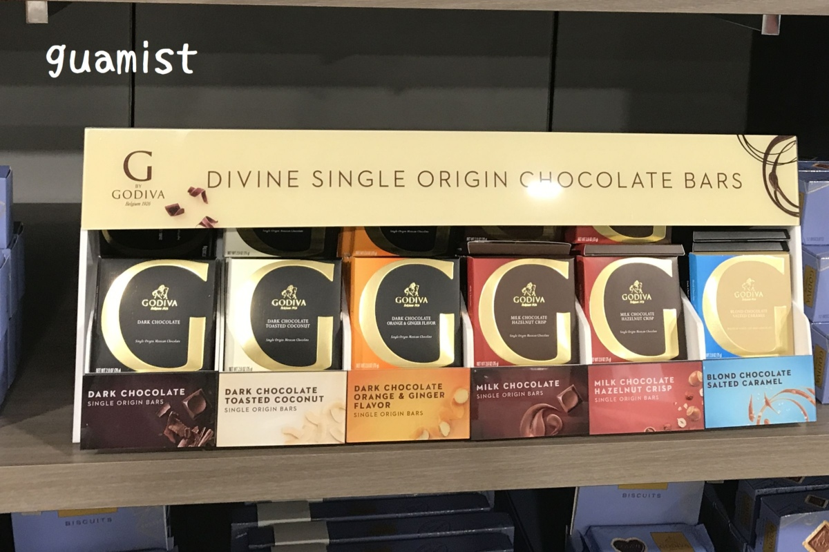 ゴディバメイシーズチョコレート