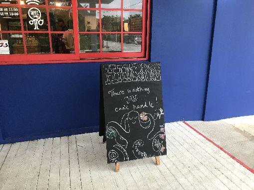 グアムのタモンにあるハンバーガー店ハンブロス