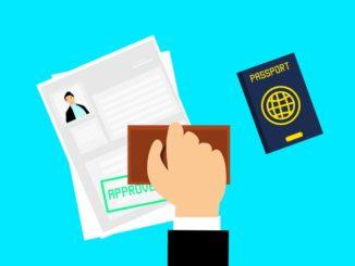 入国審査パスポート