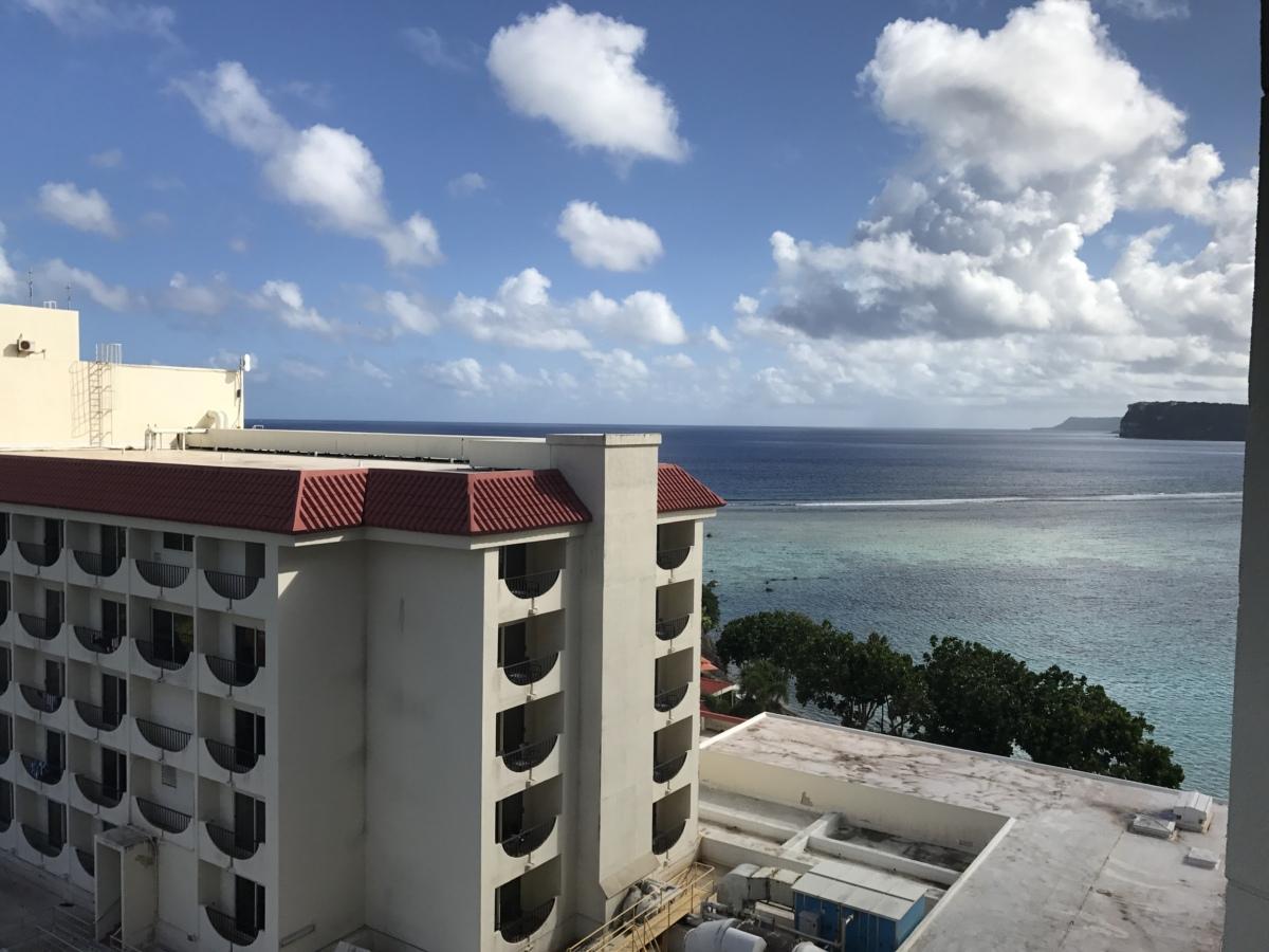 ホテルの外観 グアム