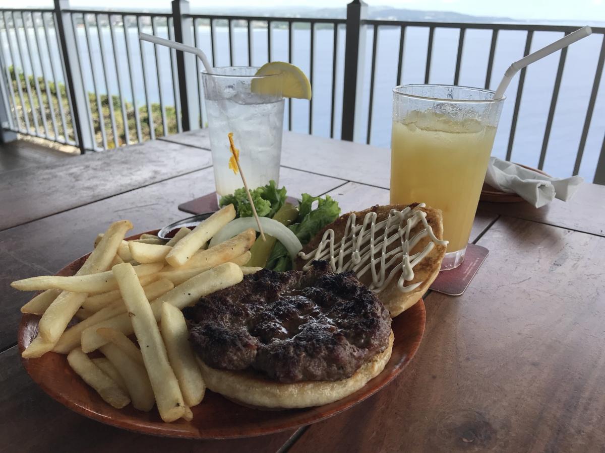 恋人岬のレストランカフェ