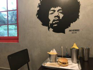 グアムタモンのハンバーガーショップ