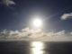 恋人岬の夕日