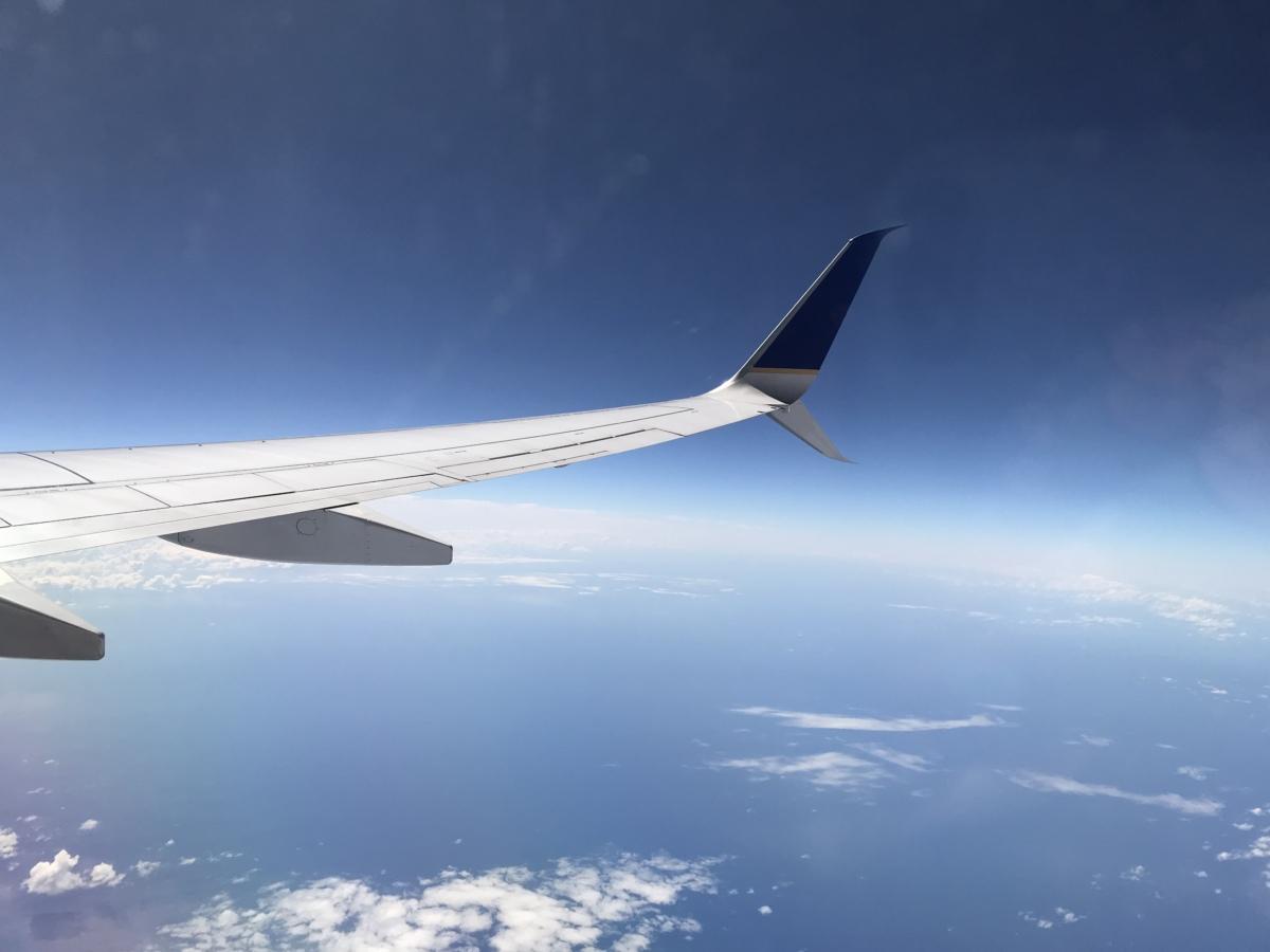 飛行機 ユナイテッドエアライン