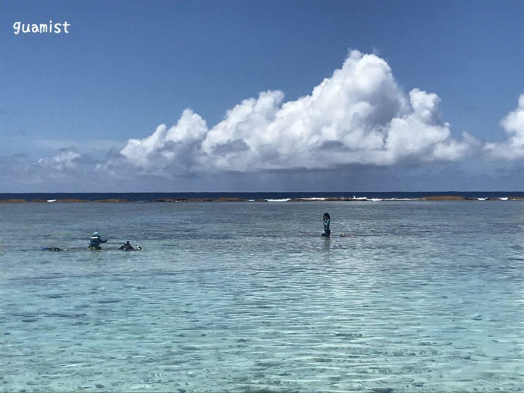 グアムのリティディアンビーチ