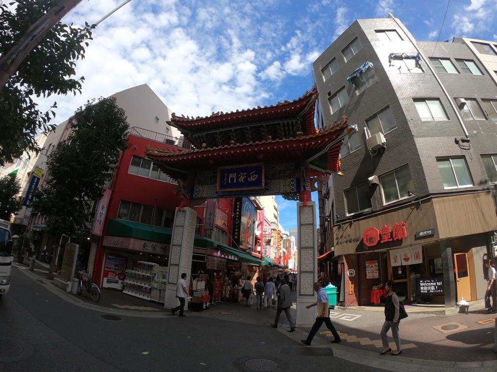 goproで撮影した南京町