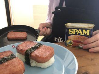 グアム人気土産のスパム缶詰